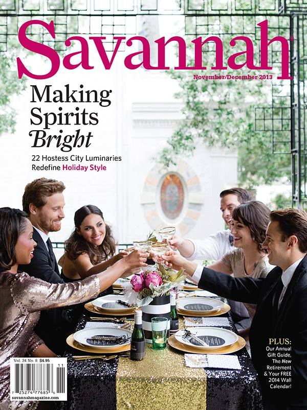 Savannah Weddings Magazine Nov/Dec 2013 Cover + Style Me Pretty Feature
