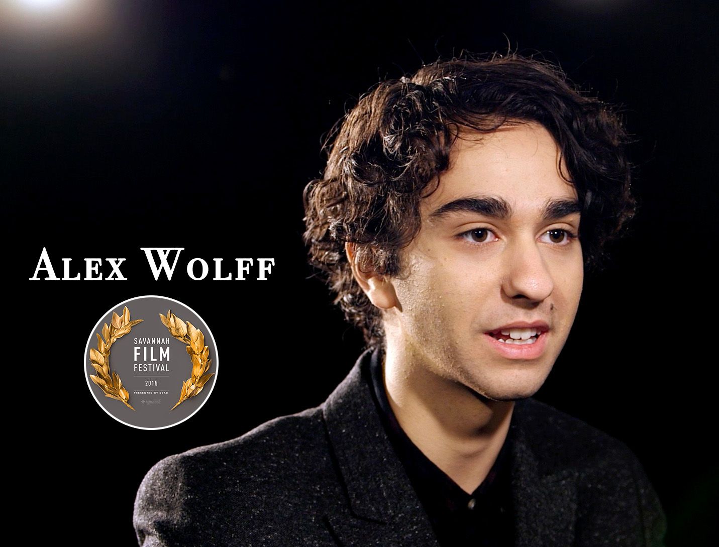 Alex Wolff at Savannah Film Festival Red Carpet