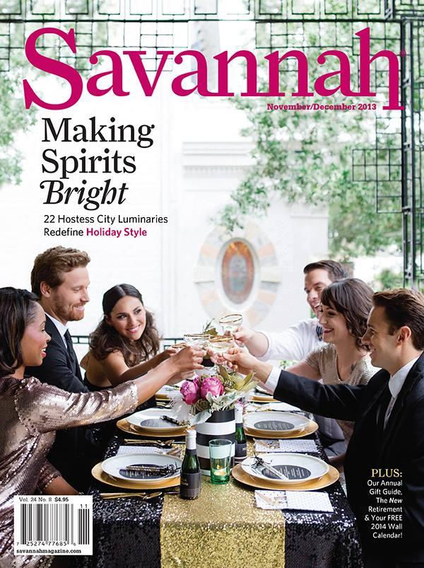 Savannah Weddings Magazine Nov/Dec 2013 Cover + Style Me Pretty Feature